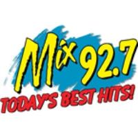 Logo of radio station KLOZ Mix 92.7