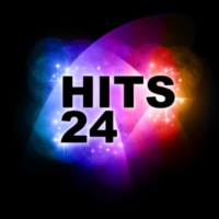 Logo of radio station Hits 24