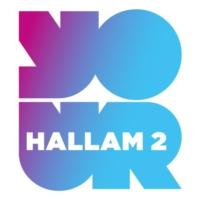 Logo de la radio Hallam 2