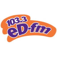 Logo of radio station KDRF 103.3 eD FM