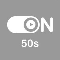 "Logo of radio station ""ON 50s"""