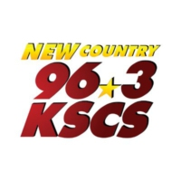 Logo of radio station KSCS New Country 96.3