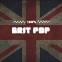 Logo of radio station 100FM - Britpop