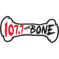 Logo de la radio KSAN 107.7 The Bone