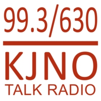 Logo of radio station KJNO