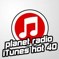 Logo of radio station Planet Radio iTunes Hot 40