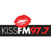 Logo of radio station Kiss FM 97.7