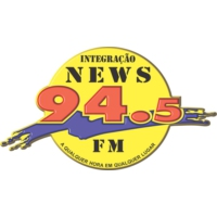 Logo of radio station Integracao 94.5 FM
