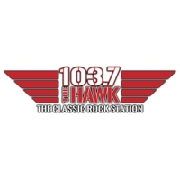 Logo of radio station KPLN 103.7 The Hawk