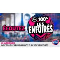 Logo of radio station RFM 100% Enfoirés