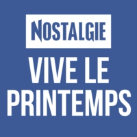 Logo of radio station Nostalgie Vive le Printemps