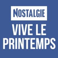 Logo of radio station Nostalgie Vive le Printemps