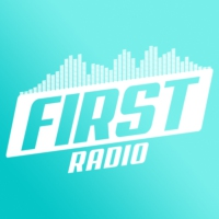 Logo of radio station First Radio