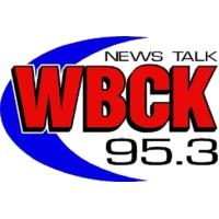 Logo of radio station WBCK News Talk 95.3 FM
