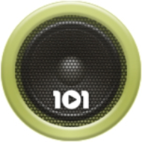 Logo de la radio 101.ru - Blues