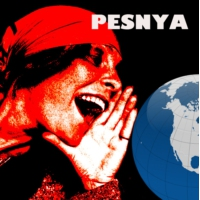 Logo of radio station PESNYA