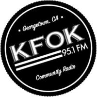 Logo of radio station KFOK 95.1 FM