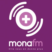 Logo of radio station Mona FM
