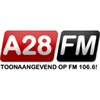 Logo of radio station A28 FM