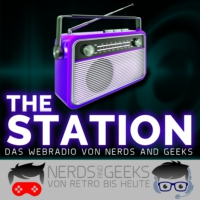 Logo de la radio Nerds and Geeks: THE STATION
