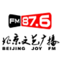 Logo of radio station Beijing Joy FM Radio 87.6