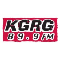 Logo of radio station KGRG 89.9 FM