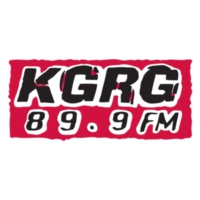 Logo of radio station KGRG 89.9 FM