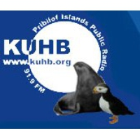 Logo of radio station KUHB