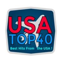 Logo of radio station usa-top40