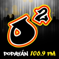 Logo of radio station Oxigeno Popayán FM