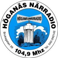 Logo of radio station Höganäs Närradio 104.9