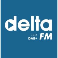 Logo of radio station DELTA FM Lille