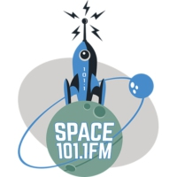Logo of radio station KMGP-LP Space 101.1 FM