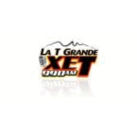 Logo of radio station La T Grande