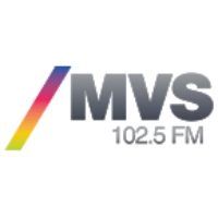 Logo of radio station MVS Noticias