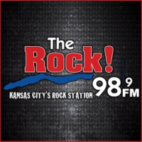Logo de la radio KQRC-FM 98.9 The Rock!