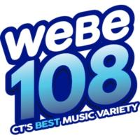 Logo of radio station WEBE 108