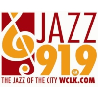 Logo of radio station WCLK Jazz 91.9 FM