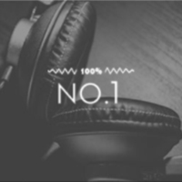 Logo of radio station 100FM - No.1