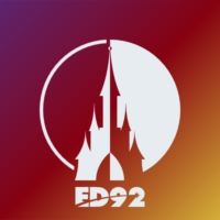 Logo of radio station ED92Radio