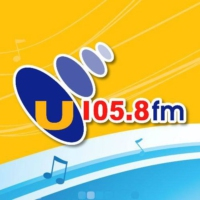 Logo of radio station U105 FM