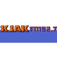 Logo de la radio KJAK We've Got the Spirit 92.7 FM