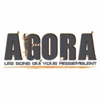 Logo of radio station Agora FM Montpellier