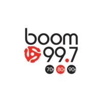 Logo de la radio CJOT-FM boom 99.7