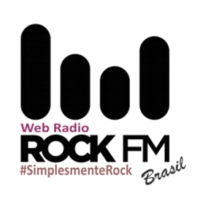 Logo of radio station Rock FM Brasil