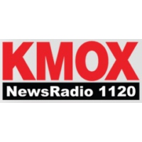 Logo of radio station KMOX AM (The Voice of St Louis)