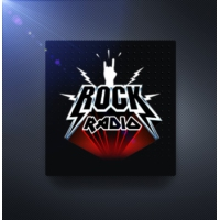 Logo of radio station Радио Рекорд - Rock