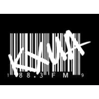 Logo of radio station KXUA
