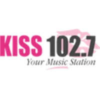 Logo of radio station WCKS Kiss 102.7