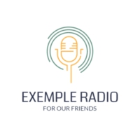 Logo of radio station Exemple Radio